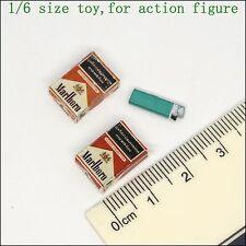 L44-09 1/6 scale action figure lighter & cigarettes *2