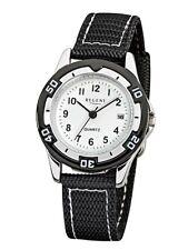 Regent Reloj De Niños f-318 Análogo tela negra