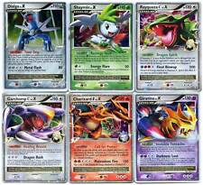 POKEMON Lot de 6 Cartes Niveau X ( lv.X ) Niv X Neuves/