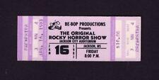 1981 Original Rocky Horror Show unbenutzt Konzert Ticket Jackson MS