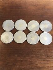 Vintage Eight Strachan Silver Plated Drink Coasters