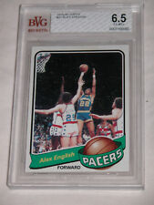 1979 80 Topps Basketball Alex English BGS BVG 6.5 EX MT+ Pacers 31 Rookie RC HOF