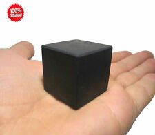 Shungite schungit Unpolished cube 30x30 elite crystal cups minerals