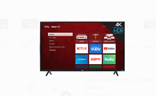 """TCL 43"""" Class 4K (2160P) Smart LED TV (43S421)"""