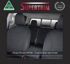 Supertrim Nissan Navara NP300  Neoprene Waterproof Front Seat Covers - Black