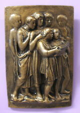 Vintage Church Choir Boys Wall Sculpture Home Decor Plaque