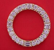8 CT Diamond Bezel in YG for Rolex Day Date President Watch. UNIQUE ! ASAAR DEAL