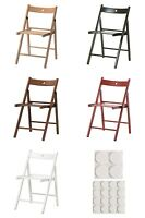 IKEA Terje Folding Chair Beech Black White Dining Study Foldable Easy Storage