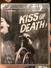 KISS OF DEATH Blu-ray Twilight Time, Film Noir, BRAND NEW/Factory Sealed
