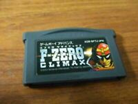 Game Boy Advance F-ZERO CLIMAX Software only Nintendo Japan ver. GBA FAST SHIP