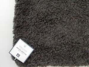 Pottery Barn Teen Cozy Euro Pillow Cover Charcoal Gray NWT