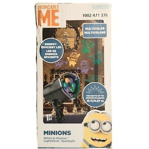 Despicable Me Whirl-A-Motion Lightshow Outdoor Christmas Spotlight Projector