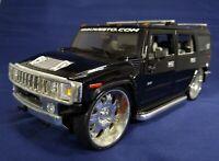 Maisto 1:18 Hummer Humvee H2 SUV Black Diecast Model Car Toy Tuning Playerz