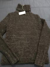 New GAP Brand Women's Black LambsWool Turtleneck L/S Luxury Sweater Small NWT