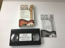 ARLEN ROTH'S MASTERS OF THE TELECASTER GUITAR VHS