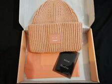 Acne Studios Pancy Wool Beanie Hat 'Pink' One Size Brand New W/box