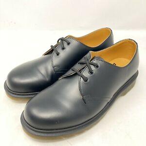 Dr Martens 1461 Black Shoes 3 eyelet casual smart hole Docs flats UK 7 EU 41