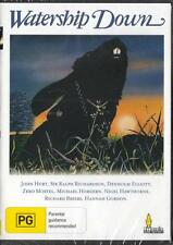 WATERSHIP DOWN - JOHN HURT  - NEW & SEALED DVD - FREE LOCAL POST