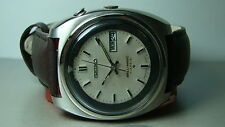 VINTAGE SEIKO BELLMATIC ALARM DAY DATE AUTO MENS 191992 WATCH Y496 USED ANTIQUE