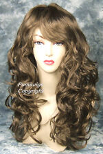 Long Wavy Light Golden Ash Brown Wig From Fumi Wigs UK