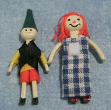 Rag Dolls, Dolls House Miniature Nursery, 1.12th Scale Accessory