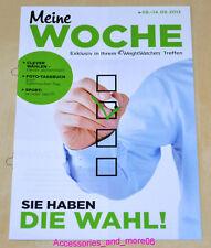Weight Watchers Meine Woche 8.9 - 14.9 ProPoints™ Plan 360° Wochenbroschüre 2013