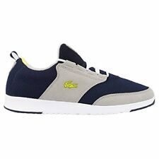 Lacoste Light-01 Rc Spm # 7-27Spm31122F1 Navy Neon Athletic Sneaker Men Sz 12