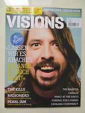 Visions 217 4/2011 inkl. CD Foo Fighters Radiohead Pearl Jam J Mascis The Kills