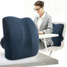 Memory Foam Cushion Office Nap Rest Chair Back Pillow Car Sofa Waist Cushions