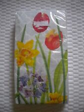 16 Count 3 ply Special Occasion Paper GUEST Towels ~ Napkins GARDEN JOY PATTERN