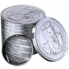 2014 Horse Privy Silver Britannia Coins - 20 oz Total .999 fine (BU, Lot of 20)