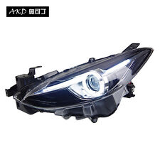 Headlight for mazda 3 axela 2014 Bi-Xenon LED DRL HID Signal High beam low beam