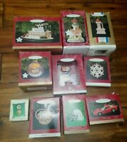 HUGE Lot of Hallmark Keepsake Ornaments 10 Ornaments with Boxes!