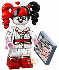 LEGO MINIFIGURES THE BATMAN MOVIE 1 NURSE HARLEY QUINN 71017 ORIGINAL MINIFIGURA