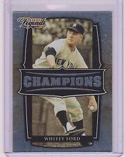 2008 DONRUSS LEGENDS WHITEY FORD CARD #C-3 ~ /1000 ~ YANKEE GREAT