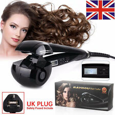 Automatic Curling Iron Fast Professional Hair Curler Roller LCD Display Secret
