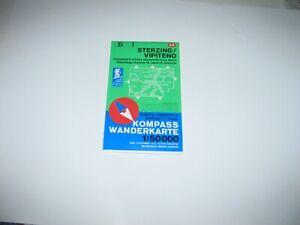 Sterzing - Vipiteno - Kompasskarte 44 - 1 : 50 000