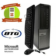 Dell Desktop Computer 8GB RAM 500GB HD Intel Quad Core i5 3.20GHz Windows 10 PC