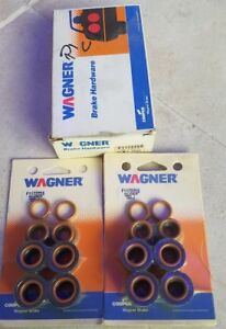 BRAND NEW WAGNER F117225S DISC BRAKE HARDWARE ALIGN KIT FRONT AUTO PART REPAIR