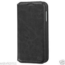 HTC Desire 510 Hybrid Wallet Pouch Folio Case w/Card Slot+Stand Black