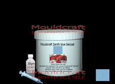 ZENITH BLUE GELCOAT 1kg kit  FIBREGLASS Lloyds Approved / MOULDS / BOAT REPAIRS