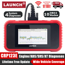 LAUNCH X431 CRP123E OBD2 Scanner Car Engine Transmission ABS SRS Diagnostic Tool