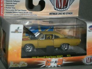 1/64th M2 Machines Detroit Muscle R33 1969 Plymouth Road Runner Hemi