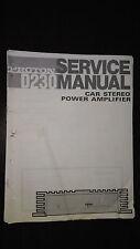 Proton d230 service manual Original Repair book car radio stereo amp amplifier c