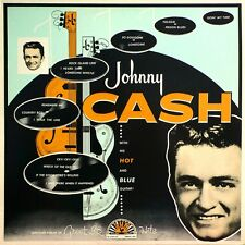Johnny Cash and His Hot and Blue Guitar - NEW SEALED classic LP SUN repro