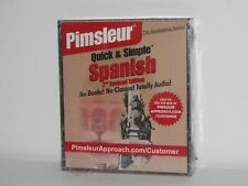 Pimsleur Quick & Simple Spanish Language 2nd Revised Edition Sealed NEW