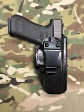 Black Police Raptor Kydex IWB Holster for Glock 17 22 31 w/Adj. Retention