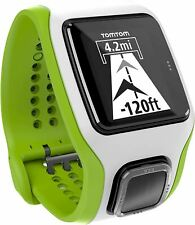 TomTom Multisport Cardio GPS Watch & Graphical Training Partner - White / Green