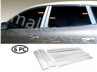 Fit 2008-2013 Nissan Rogue 6PCS Stainless Steel Chrome Pillar Post Trim Cover
