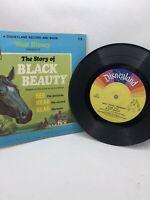 Walt Disney's The Story of Black Beauty Disneyland Record And Book VTG 1966 USA